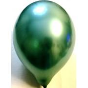 Воздушный шар хром 45 см зеленый (1 шт.)