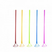 Палочка с розеткой  для воздушного шарика (цвет в ассортименте, 40 см, 1 шт.)