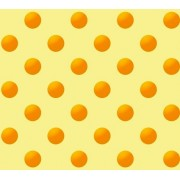 "Упаковочная бумага (100х70 см) ""Желтый горох на желтом фоне"" 5 шт."