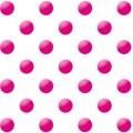 """Упаковочная бумага (100х70 см) """"Розовый горох на белом фоне"""" 5 шт."""