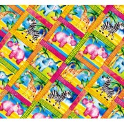 "Упаковочная бумага  (100х70 см) Эд-УБ-405 ""Детская"" 5 шт."
