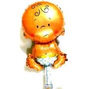 """Повітряна куля фольгована  47х26 см, """"Пупсик хлопчик"""" (1 шт.) АН-М019-№26"""