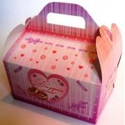 """Коробка свадебная """"Для дорогих гостей!"""" КС-20 (розовая)"""