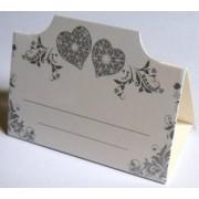 Банкетка (рассадочная карточка) свадебная ПК-07
