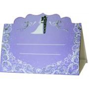 Банкетка (рассадочная карточка) свадебная ПК-51