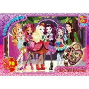 "Пазл ТМ ""G-Toys"", 70 элементов, постер  AH005-71 ""Ever After High"" (210х300 мм)"