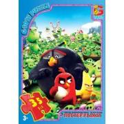 "Пазл ТМ ""G-Toys"", 35 элементов, постер  B001029-62 ""Angry Birds"" (210х300 мм)"