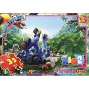 """Пазл ТМ """"G-Toys"""", 35 элементов, постер  RI002-32 """"Рио-2"""" (210х300 мм)"""