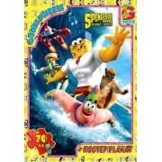 "Пазл ТМ ""G-Toys"", 70 элементов, постер  SP003-80 ""Губка Боб"" (210х300 мм)"