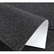 Фоаміран з глітером на клейовій основі (2 мм, 20х30 см) - чорний
