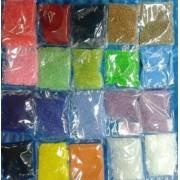 Бісер 2мм., колір в асортименті, пакетики по 7±1г.