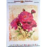 """Схема для вишивки бісером А4-КВ-2/4-0015-01 """"Весняні квіти"""""""
