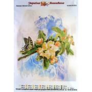 """Схема для вишивки бісером А4-КВ-3/4-0016-02 """"Весняні квіти"""""""