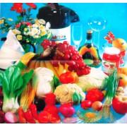 "Пленка самоклеющаяся (50х50 см) ""Натюрморт, овощи"" - ПСКМ-11"