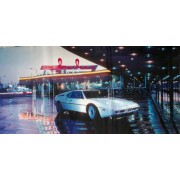 """Пленка самоклеющаяся (100х52 см) """"Белое авто"""" - ПСКБ-07"""