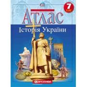 """Атлас """"Історія України"""" 7 клас, """"Картографія"""""""