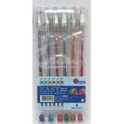 Набір гелевих ручок (6 кольорів з блискітками), Josef Otten 888GL-6