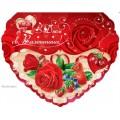 """Листівка """"З Днем Святого Валентина!"""" (34х29 см, механіка) - Эдельвейс 15-03-173у"""