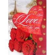 """Открытка-валентинка """"Love..."""" (механика) - Открытка.ЮА  ГПМ-0011/122"""