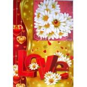 """Открытка-валентинка """"LOVE"""" (механика) - Открытка.ЮА. ГПМ-0010/122"""